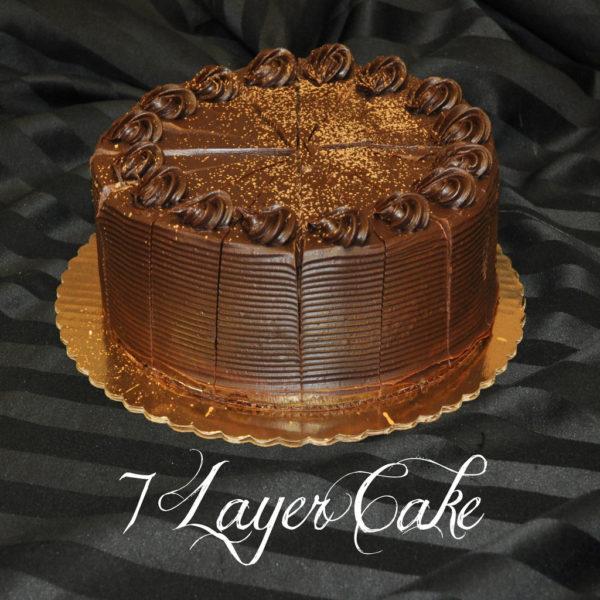 7 layer cake